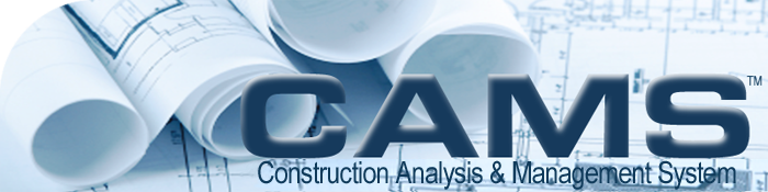 Construction Management System : Cams software home
